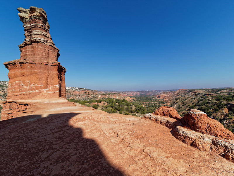 Canyon from the Lighthouse- Palo Duro Canyon