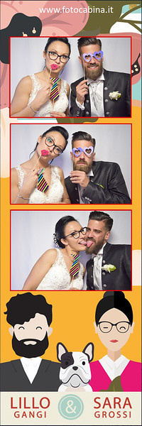 Photobooth con Fotocabina matrimonio Sara e Lillo 2 Giugno 2017