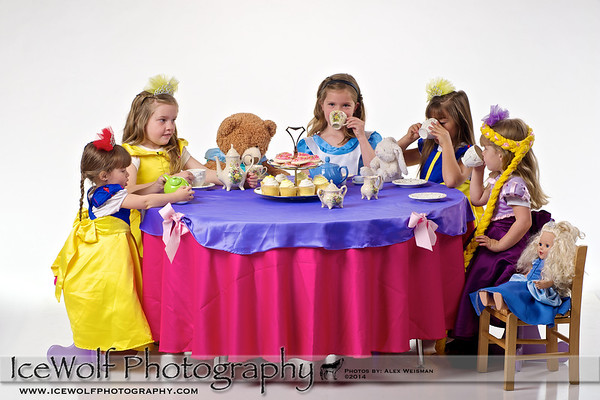 """Fairy Tailored"" Tea Party Shoot"