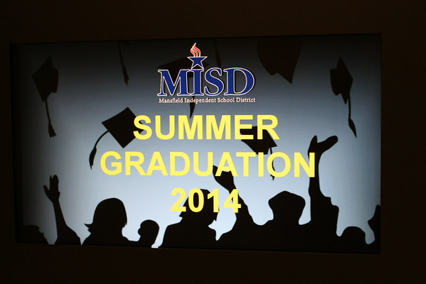 2014 MISD Summer Graduations