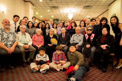 Reverend & Mrs. Quang Tran's 55th Anniversary