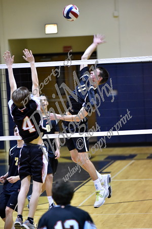 Berks Catholic vs Antietam Boys High School Volleyball 2015