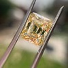 5.35ct Fancy Brownish Yellow Emerald Cut Diamond, GIA SI2 9