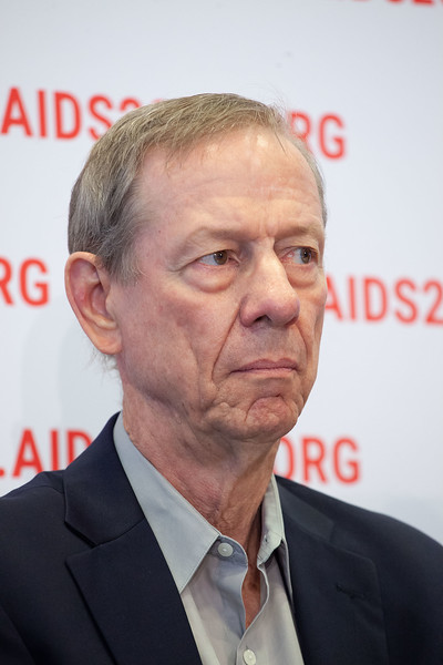 The Netherlands, Amsterdam, 25-7-2018. Press conference: The future of HIV funding. John Stover, Avenirt Health.Photo: Rob Huibers for IAS. (Please publish always with complete attribution).