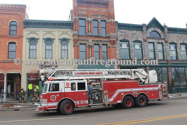 2/1/16 - Lansing smoke investigation, 200 E. Grand River
