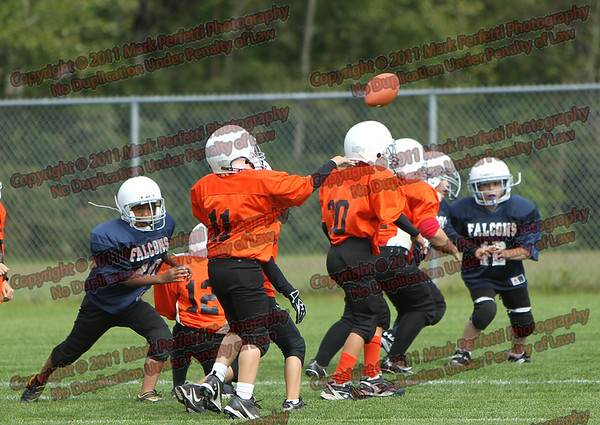 Little Giants Orange vs Blue 9-17-2011