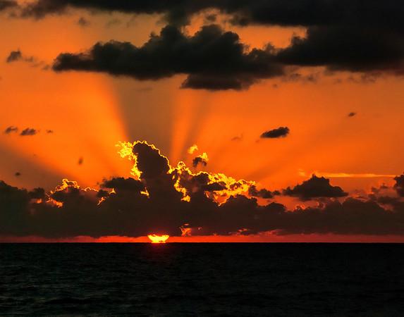 Jupiter Shores Sunrise Oct 2013
