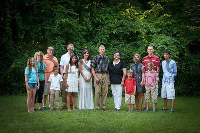 Family - Jim Spallinger Family 2014