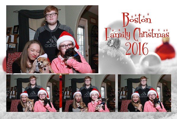 Boston Family Christmas 2016