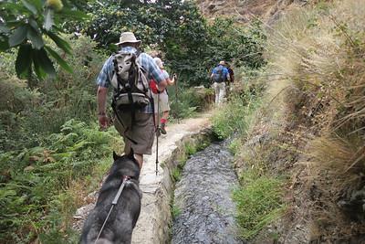 Walking in the Alpujarras 25 Sept 2017