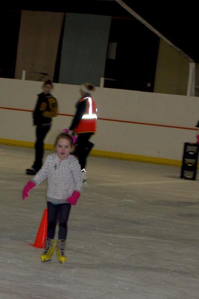 Anna LOVES ice skating