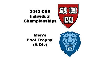 2012 College Squash Individual Championships