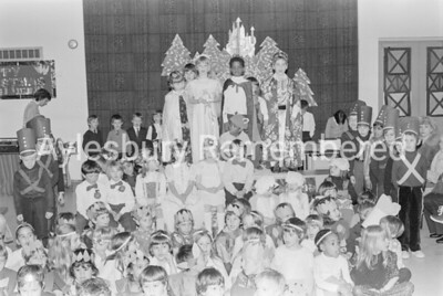 Sleeping Beauty at Ashmead School, Dec 1981