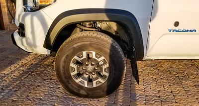 Tacoma Suspension & Tires