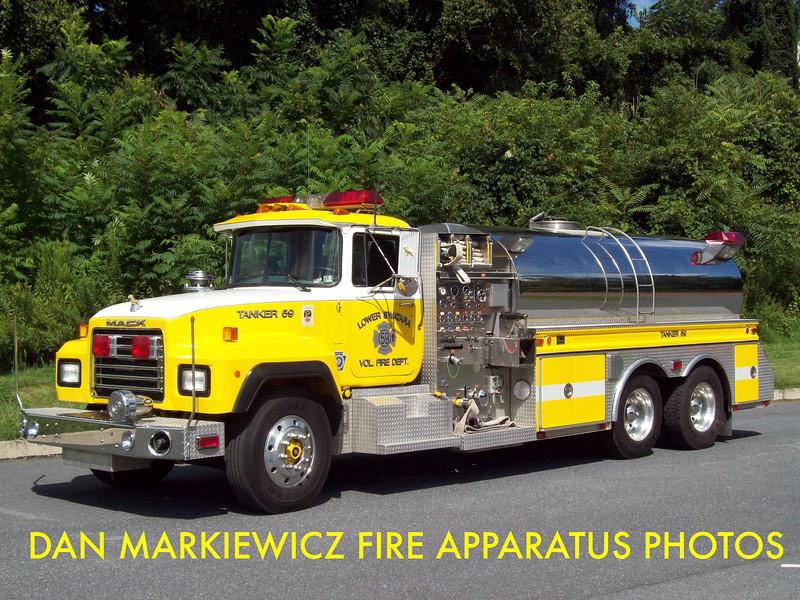 LOWER SWATARA FIRE DEPT. TANKER 59 1993 MACK/4GUYS TANKER