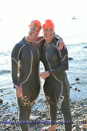 Lake Tahoe Triathlon 2014 Olympic and Half Swim