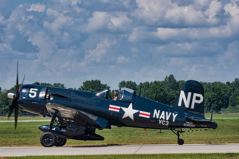 Chance Vought F4U-5NL Corsair.
