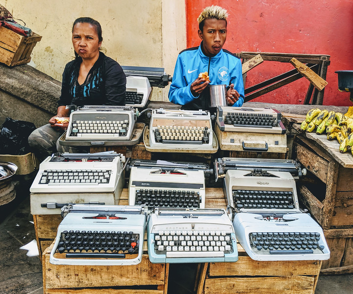 Selling Typewriters