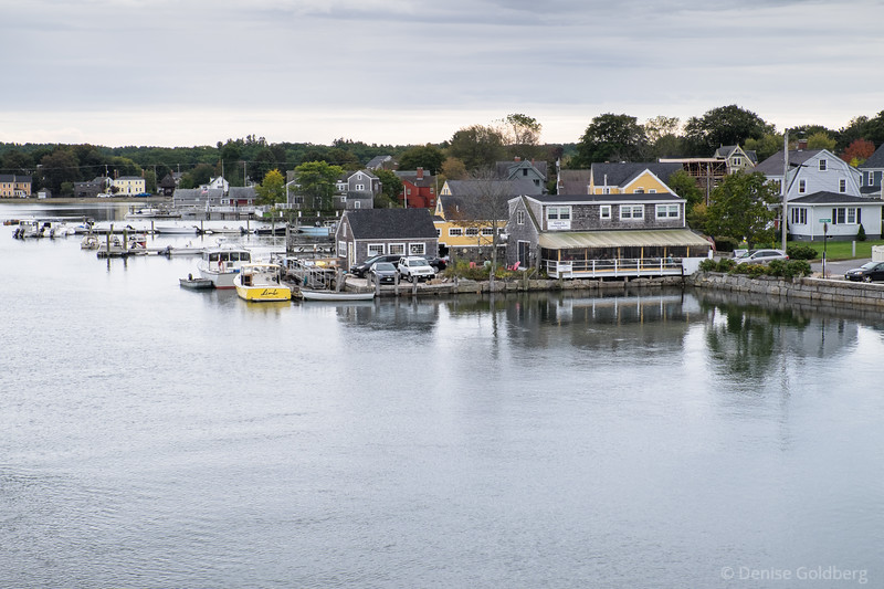 along the Piscataqua River in Portsmouth, New Hampshire