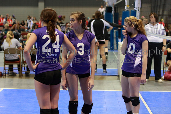Volley in the Rock - 14-1