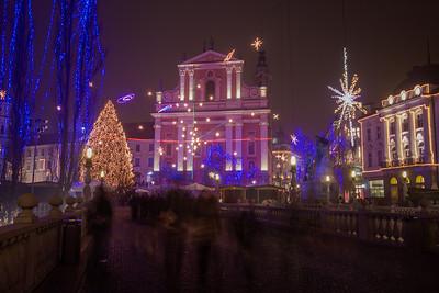 2013-12-Ljubljana Christmas lights