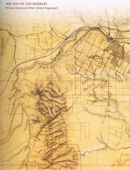 1880, William Hammond Hall Map