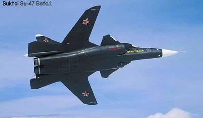 Su-47 Berkut − Russian advanced carrier-based fighter