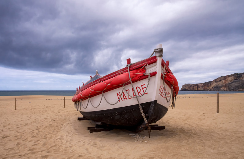 Traditional fishing boat, Nazare