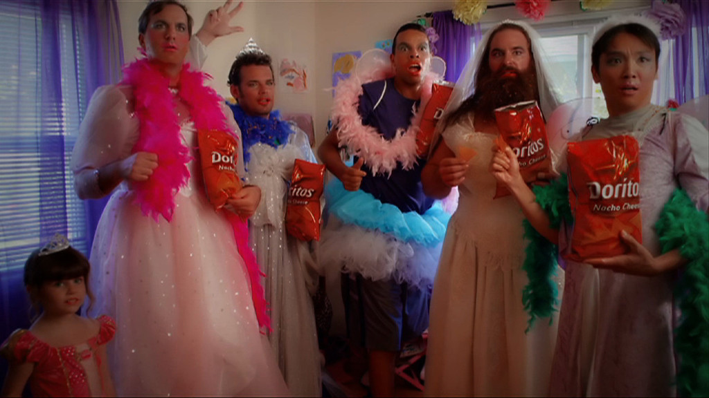 ". This  screenshot provided by PepsiCo shows the Super Bowl advertisement for PepsiCo\'s Frito-Lay\'s Doritos. PepsiCo\'s""Crash the Super Bowl\"" ads are back for the seventh straight year. Two 30-second commercials made by consumers will make it on the air. Fans voted for one winner and Doritos chose the other.(AP Photo PepsiCo)"