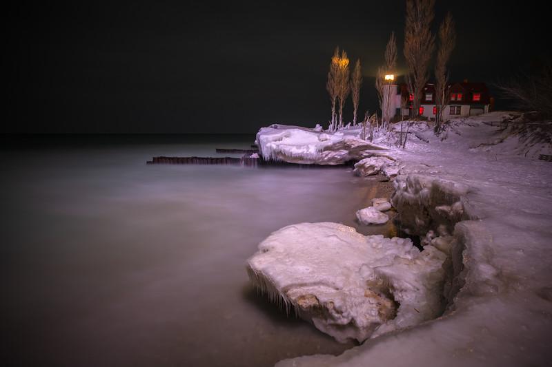 Frozen Point Betsie