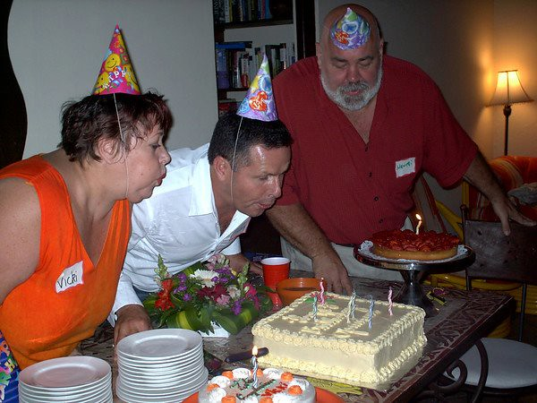 """Gemini Birthday Party with Vicki Skinner, Frank Chicas & """"Big Mike"""" Michael Forbes in Escazu, Costa Rica"""