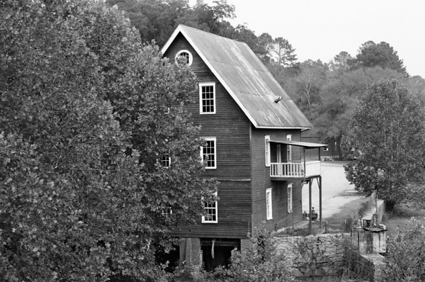 Grist Mill in South Ga.