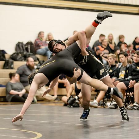 20190111 Dorsey Duals Wrestling at Poolesville High School