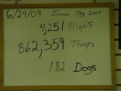 June 29, 2009 (2 Flights 11:59 PM)