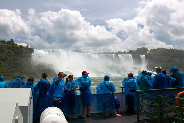 Maid of the Mist - Niagara Falls Canada - June 2010