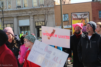 Harrisonburg's International Women's Day March