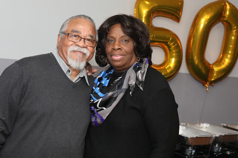 Mr & Mrs Abbott 50yrs Strong