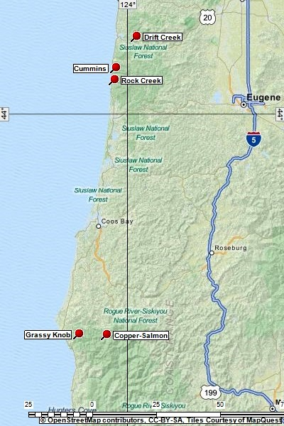 Oregon Coastal Wilderness Areas