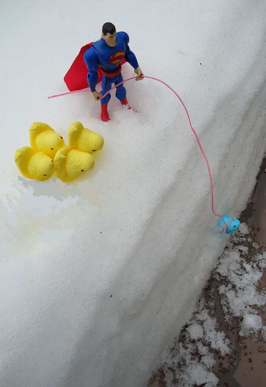 """. \""""Have No Fear! Superman is here,\"""" by Chillon Leach of St. Paul"""
