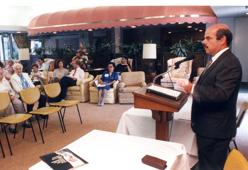 . Rep. Henry Waxman in Glendale, CA on August 23, 1988.   (Los Angeles Daily News file photo)