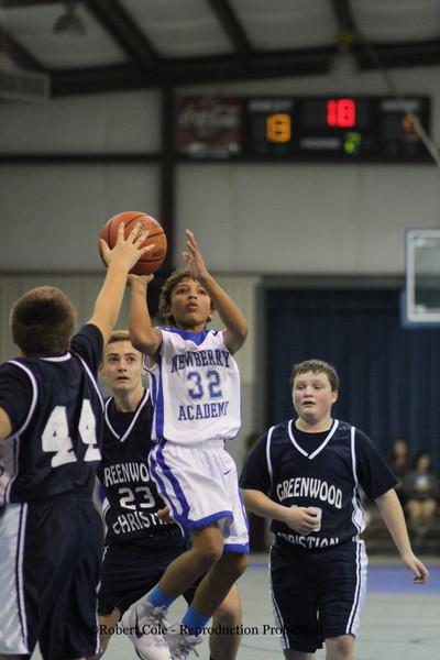 2014-15 Newberry Academy MS Boys Basketball