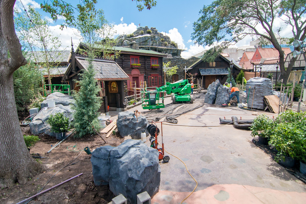 Arendelle at Epcot - New Frozen area near Norway