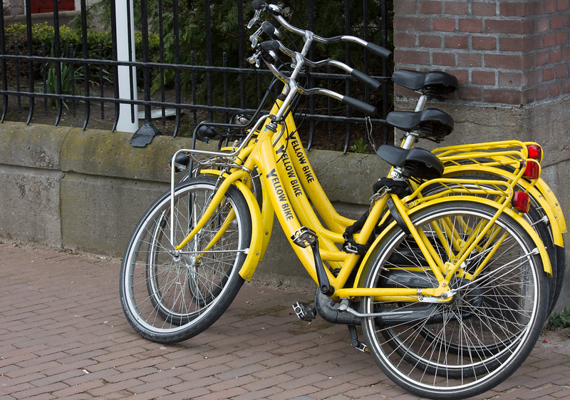 Yellow Bycicles