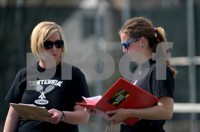 Ankeny Centennial @ Fort Dodge Girls Tennis