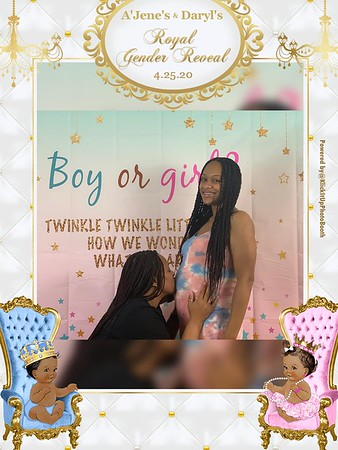 A'Jene and Daryl Gender Reveal