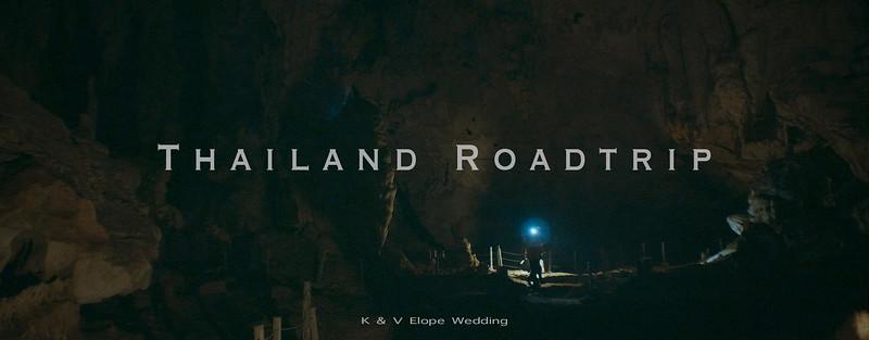 K & V Elopement | Thailand Road Trip