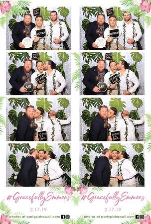 Ryan & Grace's Wedding (LED Dazzle Booth)