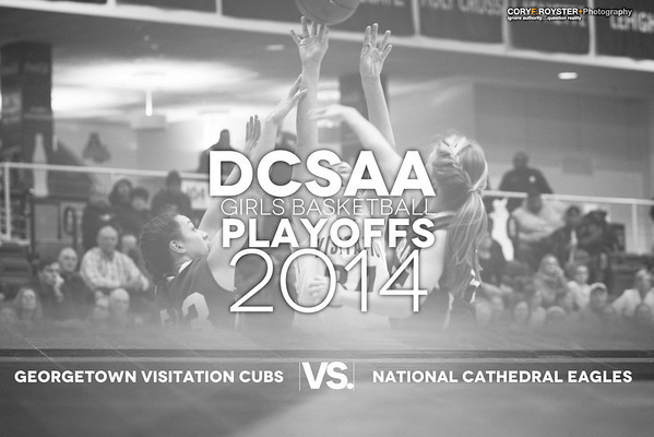 DCSAA Playoffs - Girls - Georgetown v National Cathedral