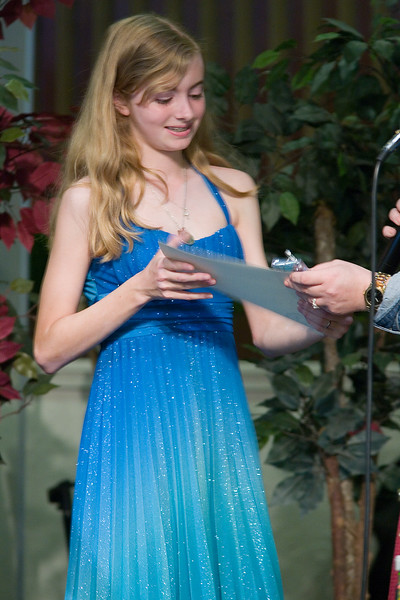 Sarah's 8th Grade Graduation at Merced Christian School.