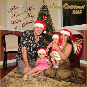 Parker Family Christmas 2015
